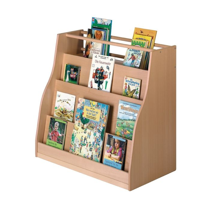 Book Cabinet / Room Divider without Casters by HABA