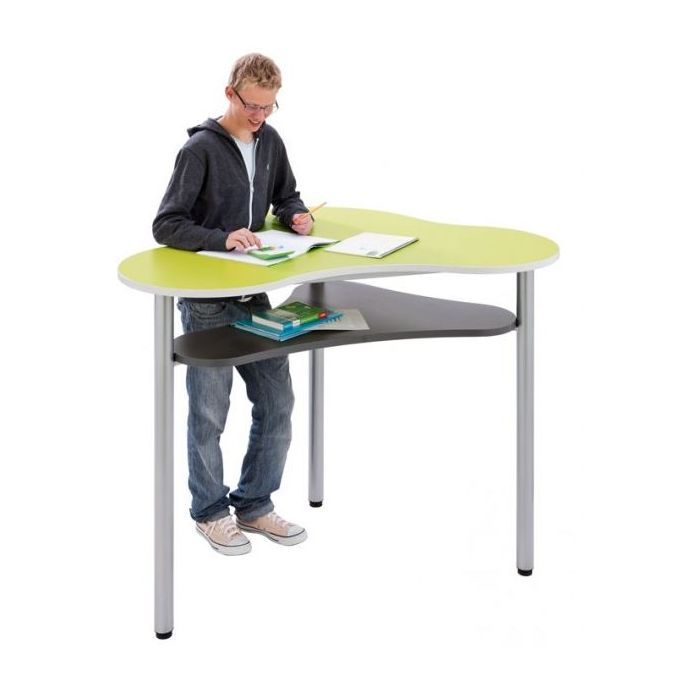 Modern Learning® Free Form Table with Storage Shelf by HABA
