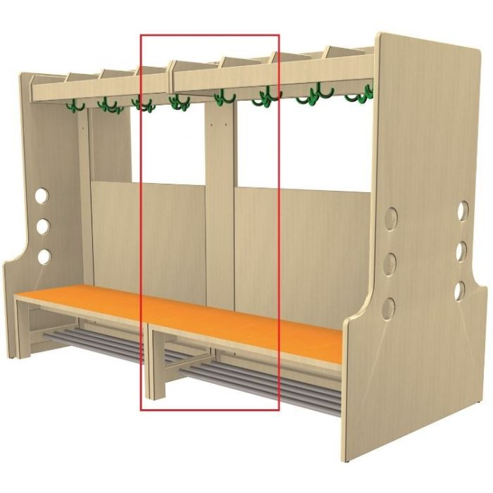 Additional Rails for Free-Standing Wardrobe Units by HABA