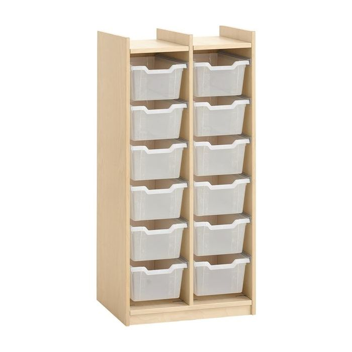 Storage Cabinet for 12 Plastic Boxes by HABA