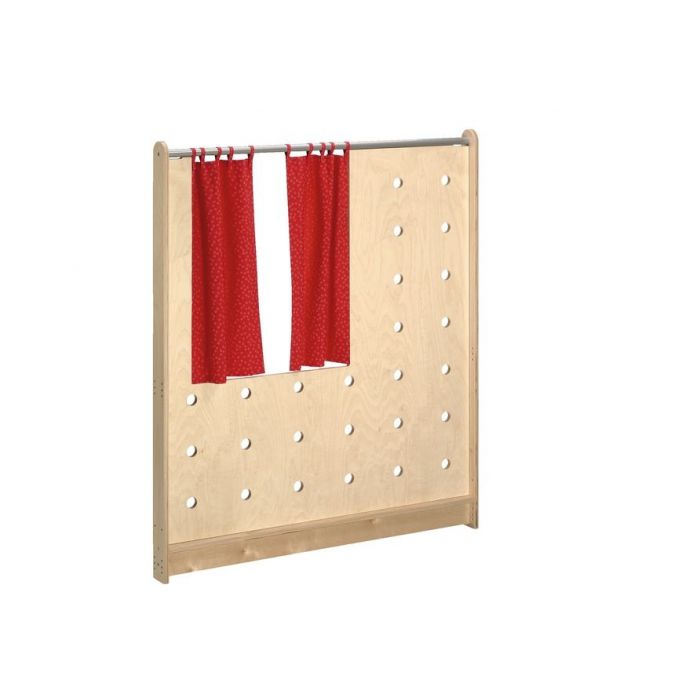 Kiosk Medium Pegboard Partition by HABA, 870469