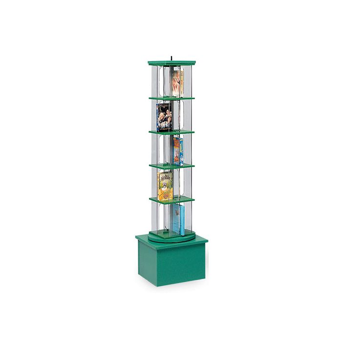 MAR-LINE® Junior Single-Tower Children and Young Adult Book & Media Display by Gressco