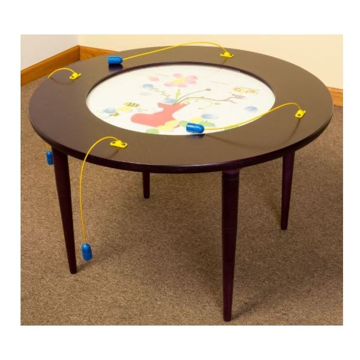 Children's Furniture Company® Play-From-The-Top Round Activity Tables, Y15*
