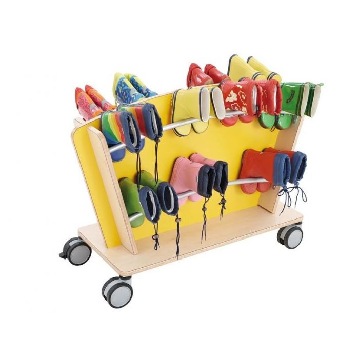 Mobile Boot Storage Carts by HABA, 125323 - 125324