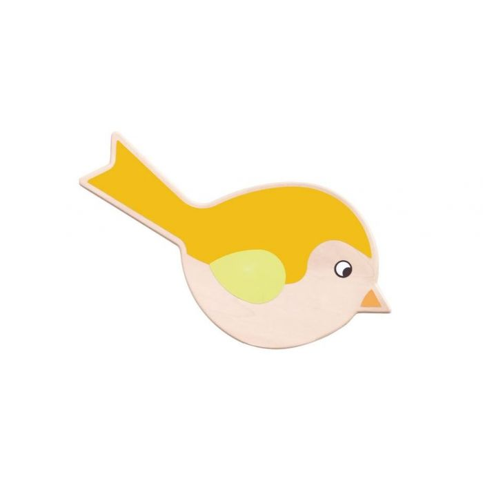 Chubby Little Orange Robin Wall Decor by HABA, 053296