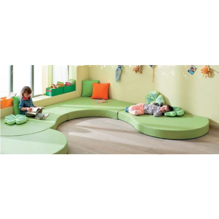 deLana Large Square Floor Cushion by HABA