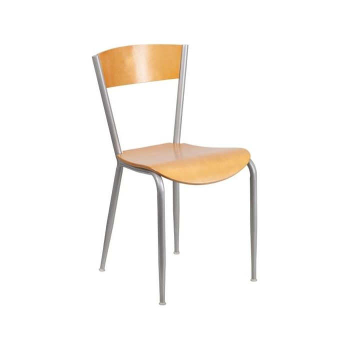 Gressco Natural Finish Metal Chair