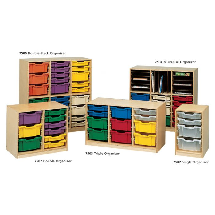 Double-Stack Classroom Organizer by Gressco