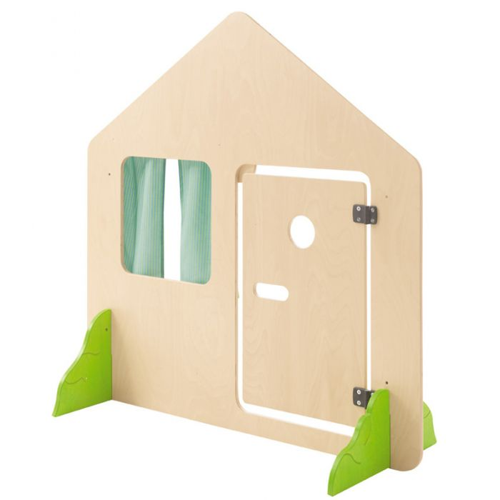 Playhouse Wall with Door and Bushes by HABA