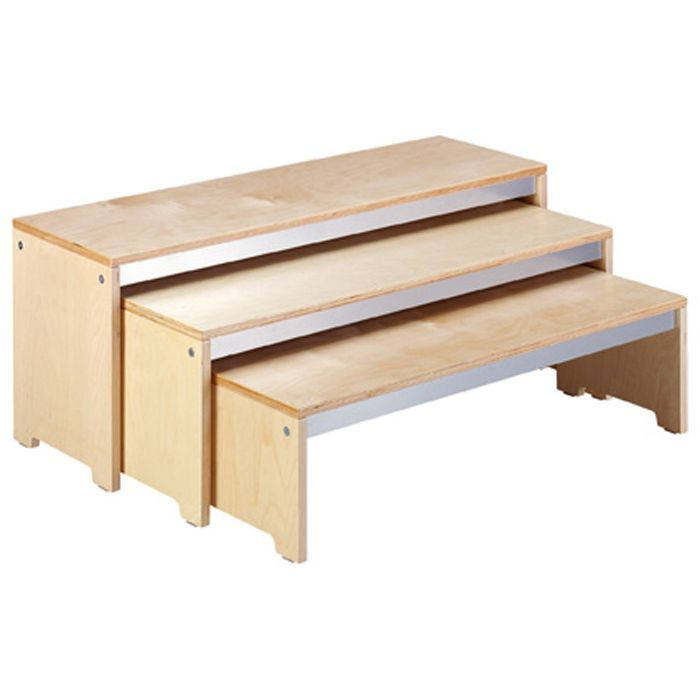 Stackable Nesting Benches by HABA