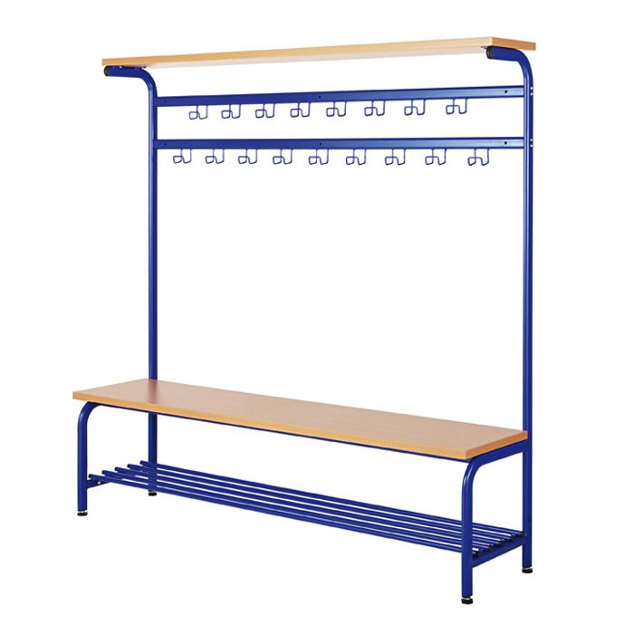 Complete Cloakroom Hat Rack and Bench Combinations by HABA