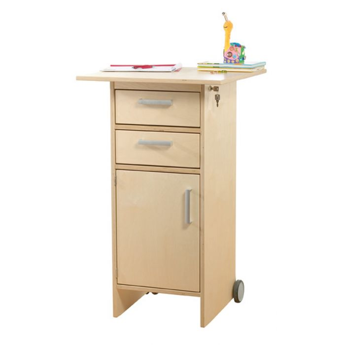 Standing & Rolling Worktable by HABA