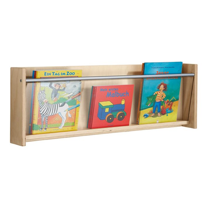 Wall Mounted Book Shelf 1 Compartment by HABA