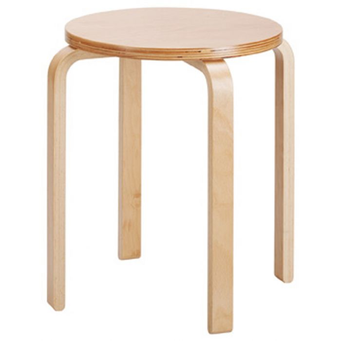 Stackable Wooden Stools by HABA