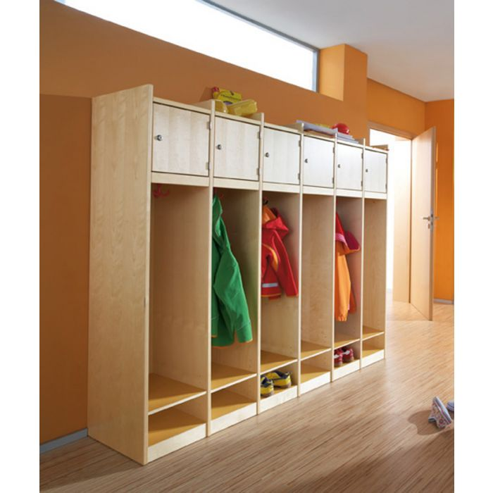 Wardrobe Cabinets w/ Personal Cubby Compartment by HABA
