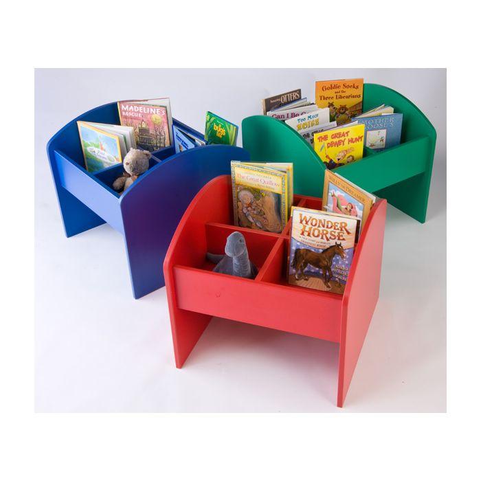 Kinderbox Book & Media Browser Bin by Gressco