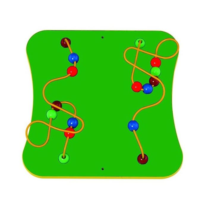 Children's Furniture Company® 2-Wires and Beads Wall Activity, PP306