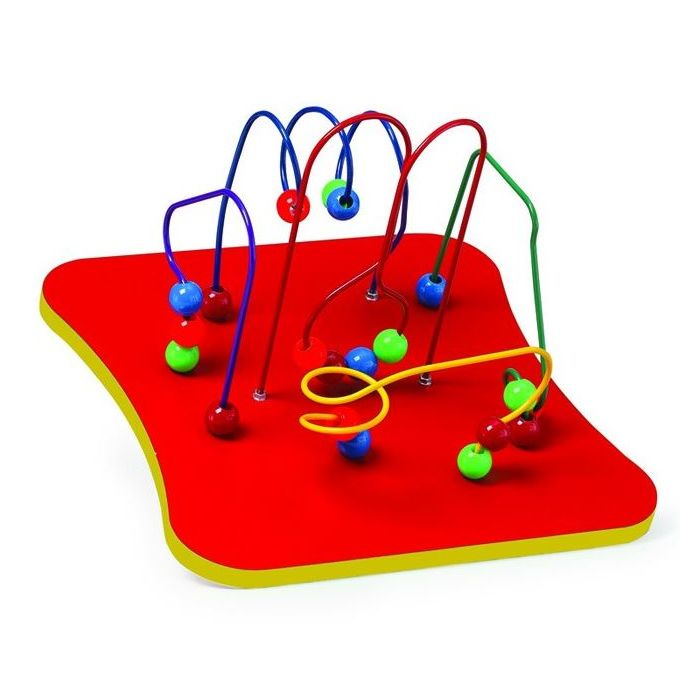 Children's Furniture Company® 5-Wires and Beads Wall Activity