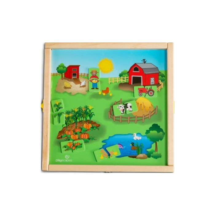 Children's Furniture Company® Animal Farm Wall Activity