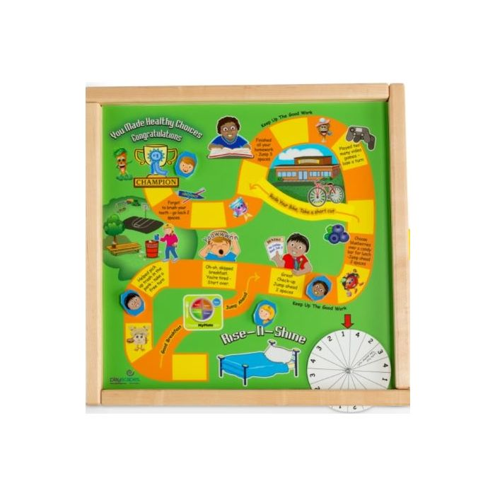 Children's Furniture Company® Healthy Race Wall Activity