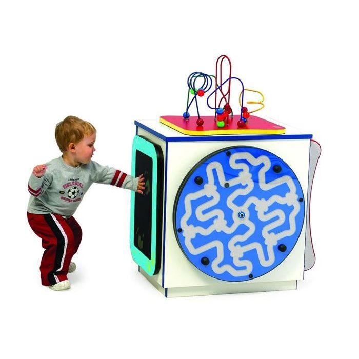 Children's Furniture Company® Medium Activity Cube (Game Panels Sold Separately)
