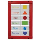 Colors and Shapes Matching Blocks Wall Activity, AMH-SST257*