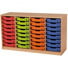 Forminant Material Cabinet with 8 sets of 8 rails by HABA, 509103