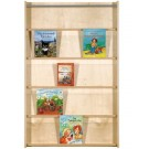 Wall Mounted Book Shelf 5 Compartment by HABA, 458886