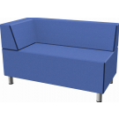 Relax Small Rectangular Sofa with Left Corner Seat by HABA, 053615*