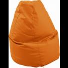 Large Orange Lounge Bean Bag by HABA, 090841