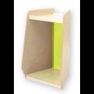 Grow Upp Trapezoid Cabinet by HABA, Green Acrylic, 440206*