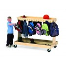 Mobile Classroom Backpack Cart by Gressco, 5290