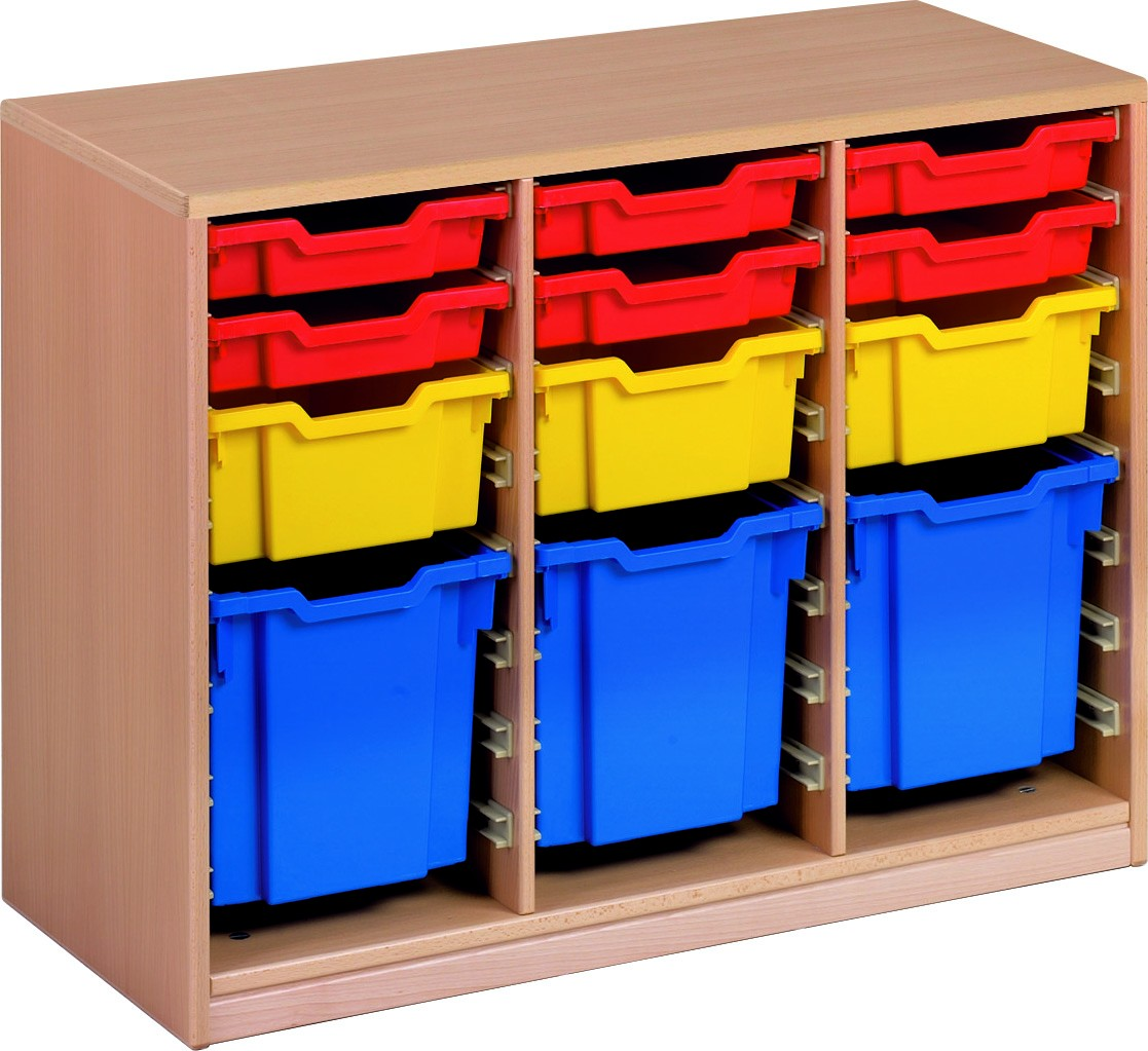 Forminant Material Cabinet With 6 Sets Of 8 Rails & 2