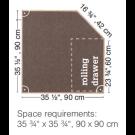 HABA Grow.upp Linoleum Platform B with D, 470359*