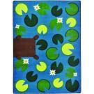Playful Pond Rectangle Classroom Carpet, 30-CR-PLP*