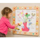 The Children's Furniture Company, Flowers, Bees and Butterflies Magnetic Activity, 20-FLM-001