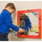 Children's Furniture Company Mirror and Bead Framed Wall Activity, 20-MRW*