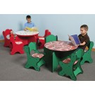 Children's Furniture Company® Round Friends Design Toddler Table, 26-TBR*