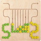 Four Labyrinths Wall Panel by HABA, 120431