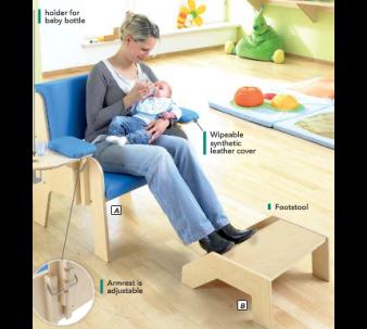 HABA Baby Feeding Chair, 102075