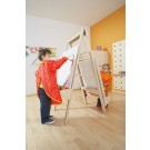 "Double Sided Adjustable Wooden Easel 57"" by HABA, 127781"