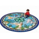 Animal Families Round Classroom Carpet, 30-CR-ANF*