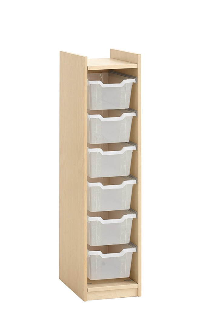 Storage Cabinet For 6 Plastic Boxes By Haba 840319