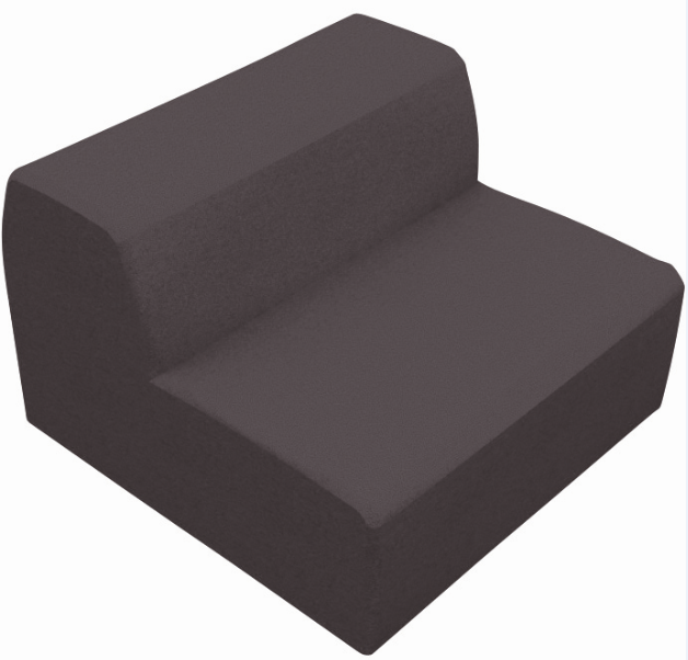 Chill out square sofa synthetic leather - Chill out sofas ...