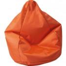 "Orange ""Tear Drop"" Beanbag by HABA, 091207"