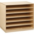 Move-Upp Document Cabinet with 5 Adjustable Shelves, 439500
