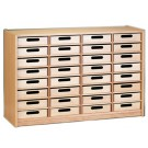 Forminant Property Cabinet with 32 Wood Boxes by HABA 508504*, 501030