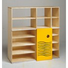 Move-Upp Wave Cabinet by HABA, 12 Adjustable and 3 Fixed Shelves, 437305*