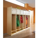 "School/After-School Wardrobe Cabinet with Personal Cubby Compartment, Basic Model, 12 1/4"", by HABA, 840356*"