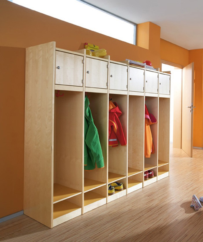 School After School Wardrobe Cabinet With Personal Cubby